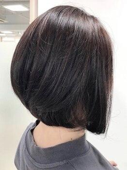 リア シェリム(Ria cherim)の写真/地肌や髪に優しい低刺激のオーガニックカラーでダメージケアしながら美しい髪が手に入る☆