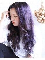 リリィ ヘアデザイン(LiLy hair design)LiLyhairdesign パープルカラー