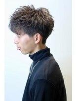 ザ サードヘアー 津田沼(THE 3rd HAIR)横顔ツーブロックマッシュ