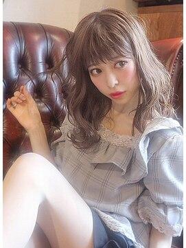 ロープヘアー 岐阜(ROPE hair)〈ROPE〉ブラウンベージュ・くびれミディ