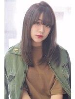 ヘアーサロン エール 原宿(hair salon ailes)(ailes原宿)style278 とろみ☆ラフストレート