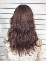 ビーヘアサロン(Beee hair salon)【渋谷エクステ・カラーBeee/安部 郁美】ラベンダーグレージュ