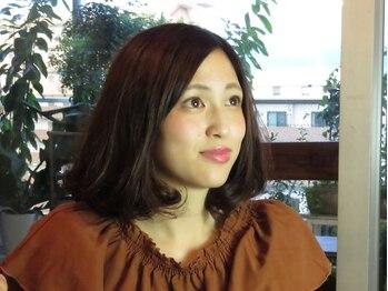 ナナマルゴ(705)の写真/ふんわり感が◎!!『化粧品登録』の髪に優しい薬剤を使用したオーダーメイド縮毛矯正♪前髪だけもOK!