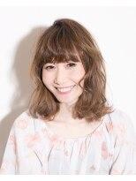 ムード 金沢文庫 hairdesign&clinic mu;d愛されゆるふわモテウェーブ