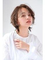 シアン ヘア デザイン(cyan hair design)【cyan】ナチュラルウルフショート