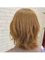 ビス ヘア アンド ビューティー 西新井店(Vis Hair&Beauty)レイヤーカット/アッシュベージュ/ブリーチ/ナチュラル/20代30代