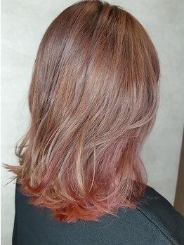 レリーヘアーデザイン(lelie hair design)の写真/【住吉】話題のRカラーで、旬のスタイルに合わせたカラーがダメージレスで叶う。個性を引き出す艶髪へ―。
