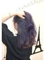 ヘアーサロン エール 原宿(hair salon ailes)(ailes 原宿)style391パープル☆クラシカルヘア
