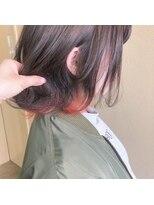 ヘアー コパイン(HAIR COPAIN)[熊本/中央区/上通り/並木坂] インナーオレンジ☆