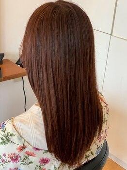 """美容室ログ(rogu)の写真/【9月NEW OPEN】髪質改善""""アマトラトリートメント""""で、憧れの質感が叶う。自信の持てる美髪をあなたに…"""