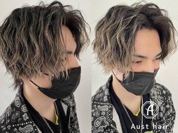 オーストヘアーレイズ(Aust hair Raise)の写真/【栄駅☆3分】人気のパーマやカラーの技術は圧巻!実力派スタイリストが創る今旬スタイルをお届け◎