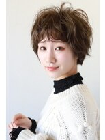 【soy-kufu】抜け感のある前髪と美フォルムショートスタイル