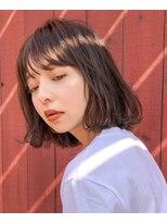 ガーデン ハラジュク(GARDEN harajuku)【鈴木ゆうすけ】やわらかボブ × 透明感ブラウン