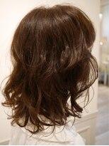 ヘアー カラー キー(HAIR color KEY)低温デジタルパーマ・ゆるふわミディ