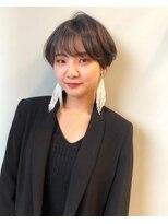 アクシス ナゴヤ(AXIS NAGOYA)`AXIS Emika シースルーバングマッシュショート