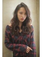 リー 甲子園(Lee)ルーズパーマでふんわり☆ロングスタイル