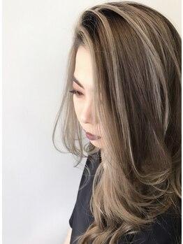 アディクト ヘアメイク(ADDICT Hair Make)の写真/外国人風スタイルが大の得意!200色以上あるカラーから一番お似合いの色をブレンドする最良カラー♪
