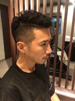 クマヘアー(KUMA hair)の写真/【メンズも大歓迎♪】男心を熟知したスタイリストが施術。メンズでもふらっと気軽に通えるのが嬉しい◎