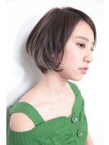 バコ(Baco.)前下がりボブ × セクションカラー【Baco.】