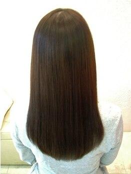 ライズヘアー(Rise hair)の写真/【早朝・深夜OK/三国ヶ丘2分】縮毛矯正+カット+炭酸プチスパ+TR¥10800◇理想のstyleに合わせて選べる★