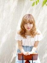 オーブ ヘアー ルル 京都四条通り店(AUBE HAIR lulu)【外国人風】元気な夏のビタミンスタイル☆