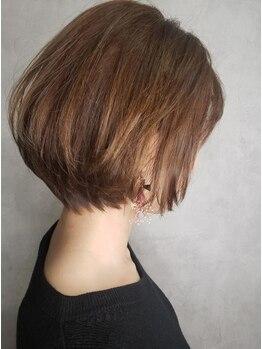 レリーヘアーデザイン(lelie hair design)の写真/【住吉】お手入れのしやすいスタイルに☆繊細なカット技術で、動きのある美しい仕上がりに。イメチェンも◎