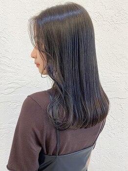アナ ラーナ(Anna Lanna)の写真/今までの縮毛矯正との違いを実感できる♪憧れのまっすぐな髪にボリュームダウン!髪に優しい縮毛矯正☆