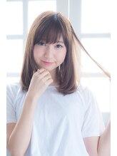 オーブ ヘアー フィオーレ 京都桂店(AUBE hair fiore)愛されラフの抜け感ストレート☆