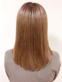 レア レフア 葛西店(Lea Lehua)の写真/【葛西駅徒歩2分】状態&髪質に合わせてご提案!乾かすだけで艶々ストレートが叶うからスタイリング楽ちん♪
