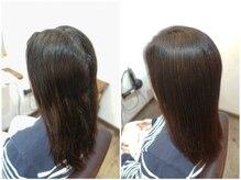 プレイヘアーマイフ(play hair Maif)の雰囲気(【ヘナカラー】でトリートメントのいらない髪へ導きます。)