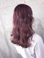 サロンドミルク 原宿(salon de MiLK)デザインカラー桜ピンク