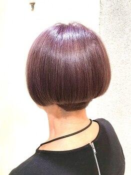 パオ (PAAO)の写真/PAAOは髪が傷みにくいオーガニックカラー材を使用!発色、色持ちも良いので満足度が◎