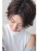 ヘアーアンドメイク フォルス(HAIR&MAKE FORS)【FORS】西田ゆか シアバターで仕上げる*ウエットショート