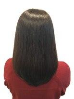 ヘア デザイン クリニック アンテナ(hair design clinic ANTENNA)スペシャルケアで艶髪美人