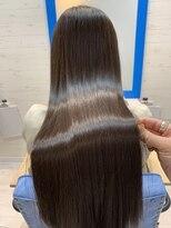 スローライフヘアーデザインアンドスパラウンジ(Slow life Hair design spa lounge)潤ツヤロング 高濃度水素質感矯正ミネコラダブル