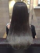 オーブヘアー ニコ 聖蹟桜ヶ丘店(AUBE HAIR nico)アッシュカラー♪ストレートスタイル