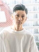 【ACA】メンズ七三分け◎フェードサイドパートショート