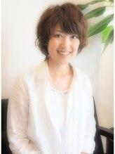 ニナヘア(nina hair)【ninahair】×ゆるふわスウィートショート