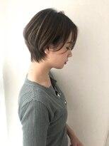 プトゥリ(Putri)大人かわいい★小顔ハンサムショート×ハイライト