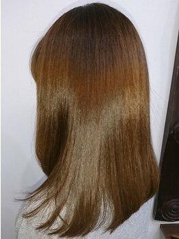 ヘルシーヘアーアゲイン(healthy hair AGAIN)の写真/高濃度水素トリートメントでツルツルサラサラに貴方もなれます☆髪の毛に水分をいっぱい入れましょう!