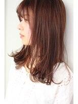 ジル ヘアデザイン ナンバ(JILL Hair Design NAMBA)【大人可愛い】毛先外はね、シースルーセミロング