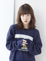 アルターリール(aL ter Rire)【Rire尚平】外ハネミディー☆イルミナカラーグレージュ