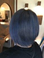 ヘアーメイク プリュム(Hair make Plume)濃厚ブルー