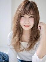 アグ ヘアー リノ 大名店(Agu hair reno)レイヤーが女性らしい柔らかロング