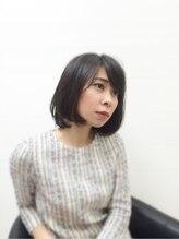 モッズ ヘア 清水店(mod's hair)☆手櫛でまとまる、大人ロブレイヤー☆ 毛先がハネるのを解消!