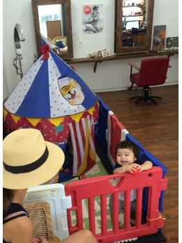 アロハナ(ALOHANA)の写真/忙しいパパ&ママに優しいサロン♪お子様もご一緒にご来店OK!お子様だらけで保育園みたいになる事も…♪