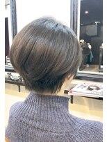 エトネ ヘアーサロン 仙台駅前(eTONe hair salon)【30代から40代にオススメ】ハンサムショート