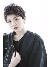 ミエル ヘア 新宿(miel hair)【mielhair新宿】パンキッシュウエットstyle
