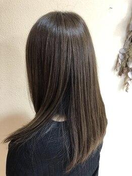 ライフヘアデザイン(Life hair design)の写真/【COTA生トリートメント+カット+カラーorパーマ¥12000】艶めく生トリートメントで髪にも心にも栄養補給を。