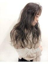 ガーデン ヘアークリエイトスペース(garden hair create space)透明感カラー フェザーロング